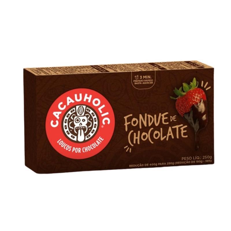 Fondue de Chocolate 60% ZERO AÇÚCAR - 250g